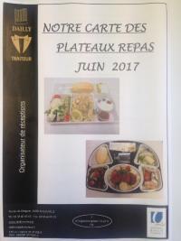 Coffrets Repas du MOIS DE JUIN 2017 !