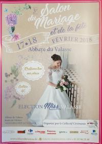 DAILLY TRAITEUR  PRESNT AU SALON DU MARIAGE ET DE LA FETE   ABBAYE DU VALASSE  17 ET  18 FEVRIER 2018